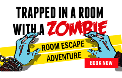 Room Escape Adventures Ltd – Trapped in a room with a zombie – 5.5/10